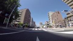 Pedestrian crosswalk, Tokyo. Stock Footage
