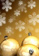 happy christmas background for great design - stock photo