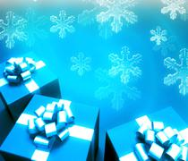 Stock Photo of happy christmas background for design