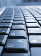 keyboard background for business design - stock photo