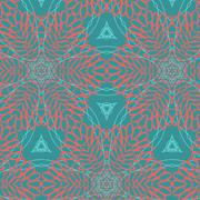 Abstract background ornament geometric vintage seamless Stock Illustration
