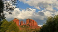 4K Sedona Time Lapse 04 Cathedral Rocks Footage