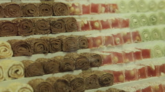 Turkish Delight, Marmaris, Anatolia, Turkey Stock Footage