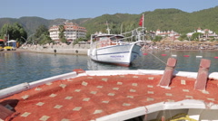Boat Trip from Marmaris to Icmeler, Marmaris, Anatolia, Turkey - stock footage