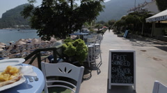 Local Fish Dish in Turunc, Marmaris, Anatolia, Turkey - stock footage