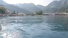 Boat Trip from Turunc to Marmaris, Marmaris, Anatolia, Turkey Stock Footage
