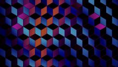Background from cubes  Stock Footage