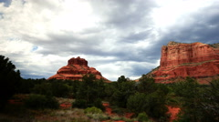4K Sedona Time Lapse 12 Dolly and Pan R Bell Rock - stock footage