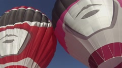 Power Rangers Hot air balloons Stock Footage
