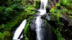 Waterfall in Triberg Black Forest 1 Stock Footage
