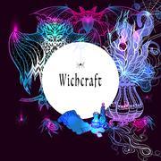 Vintage Witchcraft Frame - stock illustration