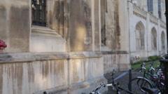 Old Post Box, Cambridge, Cambridgeshire, England, UK, Europe Stock Footage