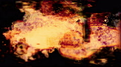 Stock Video Footage of Grungy abstract forms flicker and pulse - Grunge 1003 HD, 4K