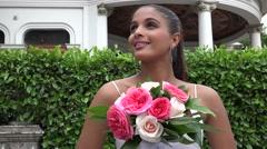 Bride, Bridal, Matrimony, Marriage Stock Footage
