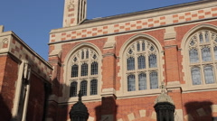 Architecture on Trinity Street, Cambridge, Cambridgeshire, England, UK, Europe Stock Footage