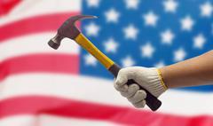 Stock Photo of Labor hand