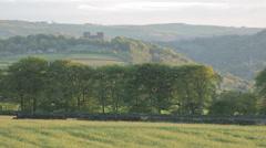 Riber Castle, Matlock, Derbyshire, England, UK, Europe Stock Footage