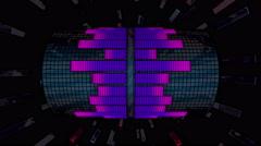 VJ Loop Color Equalizer 4K 03 Stock Footage