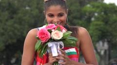 Beauty Queen, Model, Beauty Pageant Stock Footage