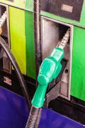 Gas nozzle - stock photo