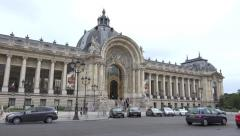 The Petit Palais (in 4k) in Paris, France. Stock Footage
