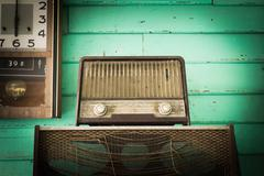 Vintage Radio player - stock photo