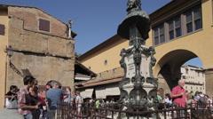 Ponte Vecchio, Florence, Tuscany, Italy, Europe Stock Footage