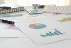 business marketing - stock photo