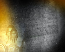 background with the Church 2 - stock footage