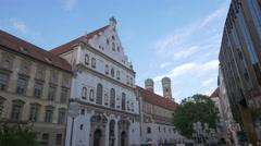 St. Michael's Church in Munich Stock Footage
