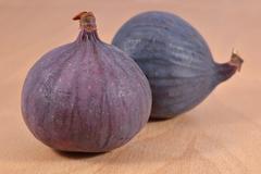 Fresh whole figs - stock photo