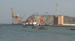 Gwadar Port Stock Footage