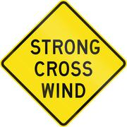 Strong Cross Wind In Australia Stock Illustration