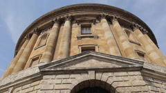 Radcliffe Camera & University Church of St Mary, Oxford, Oxfordshire, England, Stock Footage