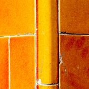 in london   the    abstract    texture of a ancien wall and ruined brick - stock photo