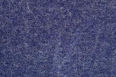 Blue felt texture - stock photo