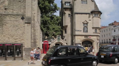 Queen Street, Oxford, Oxfordshire, England, UK, Europe Stock Footage