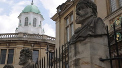 The Sheldonian Theatre, Oxford, Oxfordshire, England, UK, Europe Stock Footage