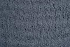 Gray polar fleece background - stock photo