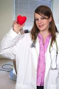 Female Cardiologist - stock photo