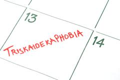 Triskaidekaphobia Stock Photos