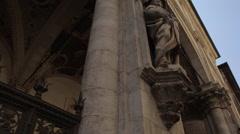 Via Banchi di Sopra, Siena, Tuscany, Italy, Europe Stock Footage