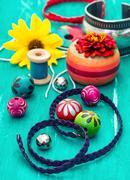handicraft - stock photo