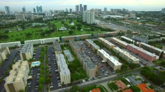 Aerial video Hallandale FL 5 Stock Footage