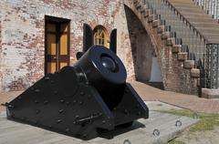 Civil War Mortar - stock photo