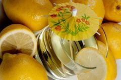 A Yellow Lemon Stock Photos