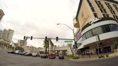 Las Vegas drive through 21 Stock Footage