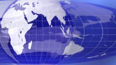 World global news background backdrop planet Earth 4K Stock Footage