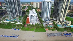Aerial video of Sunny Isles Beach 4 Stock Footage