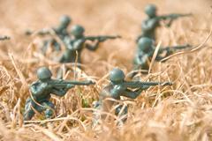 Army Man - stock photo